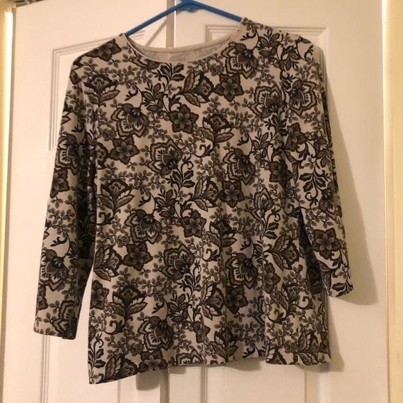 Kim Rogers Tops - Floral pattern shirt